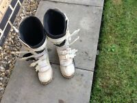 Motocross boots size 9