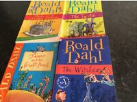 Set of four Ronald Dahl books