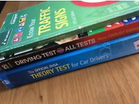 Theory test book/ dvds