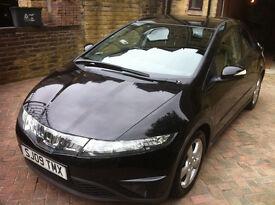 Honda Civic 09 Plate Black Petrol 1.8 ES £3650 48,000 miles For Sale. Cheapest online