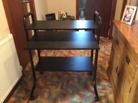 Black Assh Computer Table in very good condition