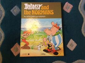 Asterix and the Normans 1979 hardback