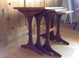 Retro G Plan Nest of Tables