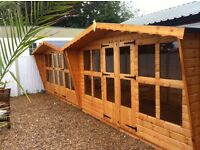 Quality 12x8 t&g summer house