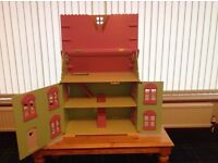 ELC Rosebud Dolls House and Stable
