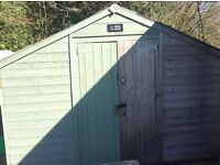 Garden shed - wooden 20 x 10