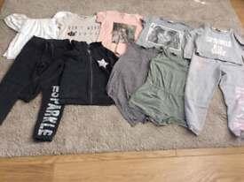 Large bundle of girls clothes...NEXT. RIVER ISLAND. ZARA. GEORGE