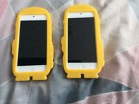 2 x iPod touch 5th generation