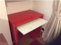 Kids IKEA desk book stand and chair