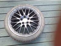 "Audi alloys 18"""