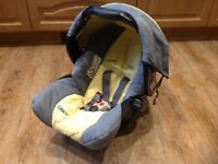 Graco baby seat and carrier