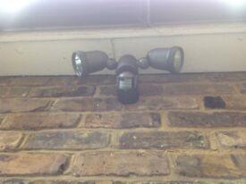 LAP Pro Twin PIR sensor controlled security spotlight