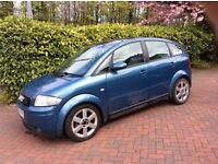 Audi A2 1.4 TDI - cheap reliable runner with 7 months MOT