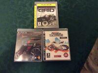 PS3 Car PlayStation games