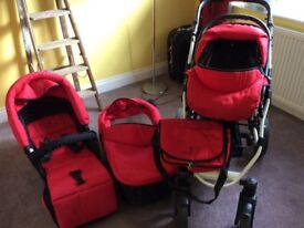 3 in 1 travel system very good condition