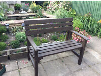 Lovely Little 2 Seat Bench in Very Good Condition