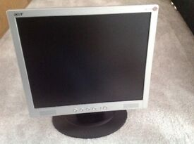 "Genuine ACER 17"" Monitor AL1715"