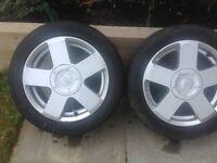 Ford Fiesta Zetec alloys 195/50/15