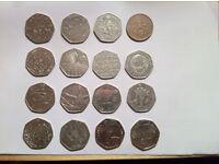16 rare coins