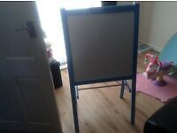 Ikea chalk and white board