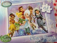 4 X Disney Princess Puzzles