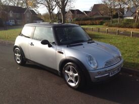 Silver Mini Cooper JCW sound kit fitted