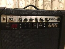 Zoom Fire - 15 Modeling Guitar Amplifier