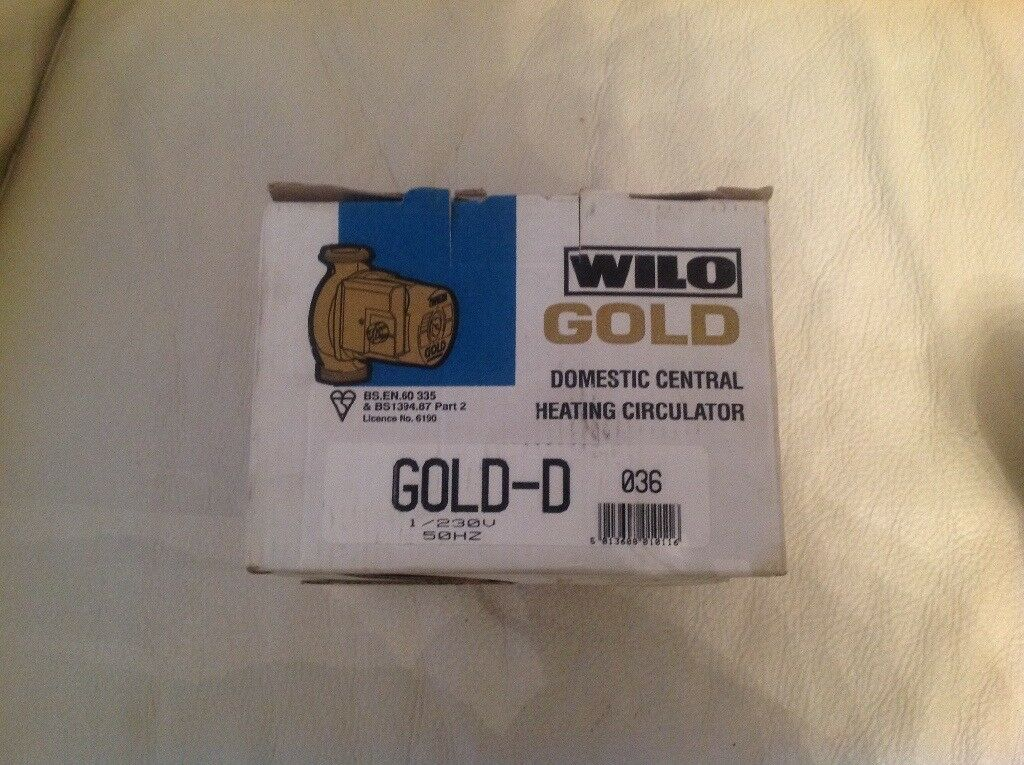 WILOGOLD domestic central heating circulator (pump)