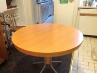 John Lewis round extending table