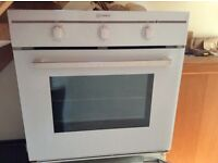 Build-in Indesit Oven with grill option