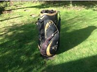 Cobra Golf Trolley Bag with rain cover - excellent condition
