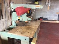 "Dewalt Large Radial Arm Saw 8"" blade"