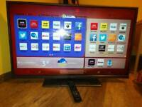 Hitachi 42 inch LED Smart TV with Wi-Fi Apps and Freeview HD