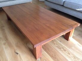 Solid Teak Table (bought in Japan) Pick up in Kirkby Lonsdale