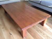 Solid Teak Table (bought in Japan)