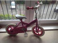 Princess girl bike