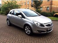 2009 Vauxhall Corsa Sxi 1.2 Petrol, 1 Year MOT, Full Service History, Only Done 47,000 Miles
