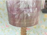 Pure wool balmoral 40/cm large lampshade