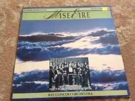 MISE EIRE VINYL LP..ELMER BERNSTEIN- SEAN O'RIADA
