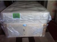 "4ft small double 10"" turnable mattress brand new delivered free local"