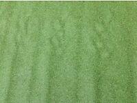 Artificial grass , roll end, brand new, 2.8 m. X4 m bargain £79