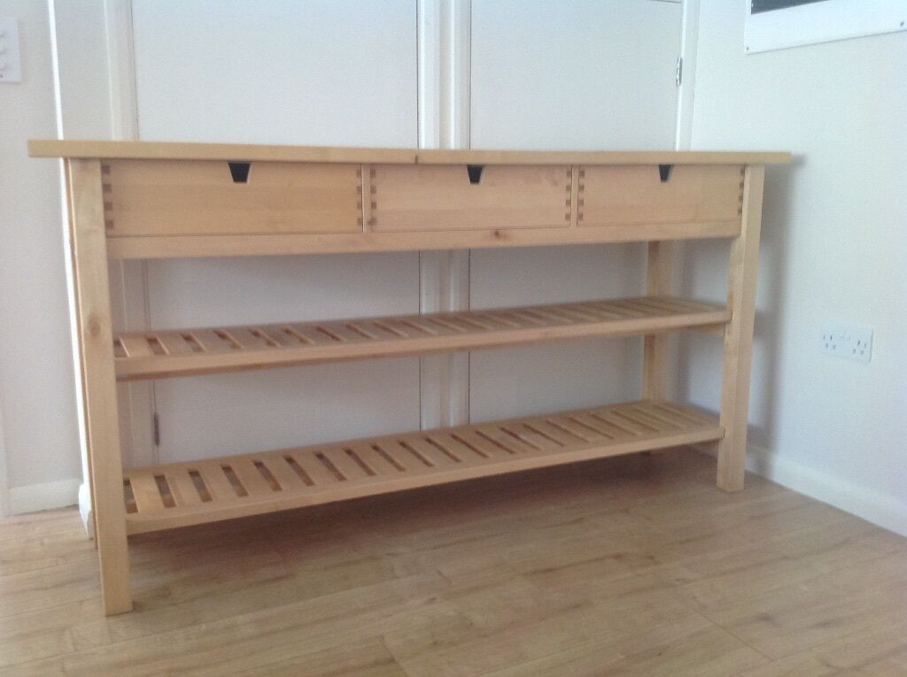Ikea Kitchen Island Toronto ~   island worktop 2 shelves 3 drawers sideboard table breakfast bar