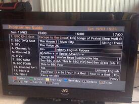 "JVC 32"" TV."
