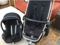 Quinny Pushchair with Maxicosi car seat