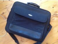 Belkin laptop case, padded, strap, pockets