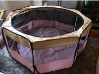 Pet playpen extra large as new good for rabbits, Guinea pigs, chinchilla