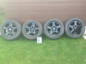 """Nissan 200sx S14/a Wheels 5x114.3 stock 16"""" Alloys Nismo + D1 Red nuts (Black Friday £75) JDM"""