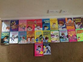 22 Horrid Henry Books
