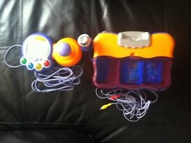 V-Tech V-Smile Kids Games Console + Games-brand new unboxed