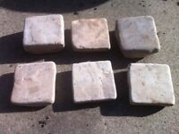 50 Indian Sandstone Setts